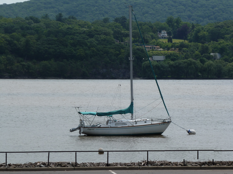 The Commodore's sailboat